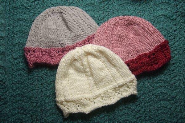 Knitting Raspberry Stitch In The Round : Charity - Mamas Stitchery Projects