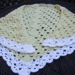Fans and Pansies Shawl