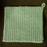 The Best Crocheted Potholder