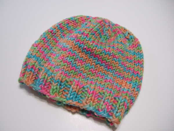 Knitting Pattern For Basic Beanie : Basic Bulky Beanie Hat - Clothing Knitted My Patterns - - Mamas Stitcher...