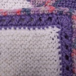Crossed Double Crochet Border