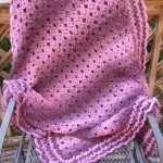 No Beginning Chain Diamond Lace Throw