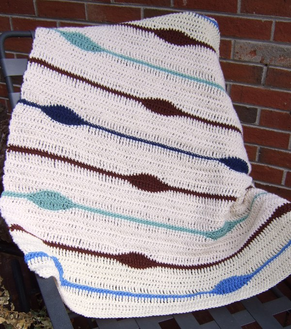 The Blanket Has Eyes Afghans Crocheted My Patterns Mamas