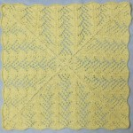 Fan Lace Baby Blanket