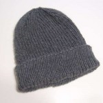 My Favorite Ribbed Hat for Straight Needles