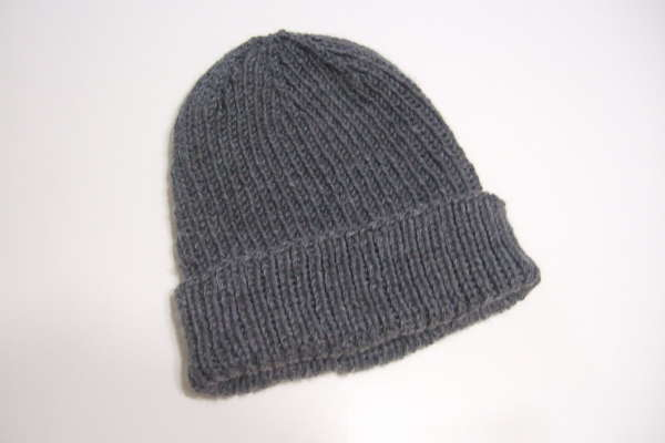 My Favorite Ribbed Hat For Straight Needles Clothing Knitted My