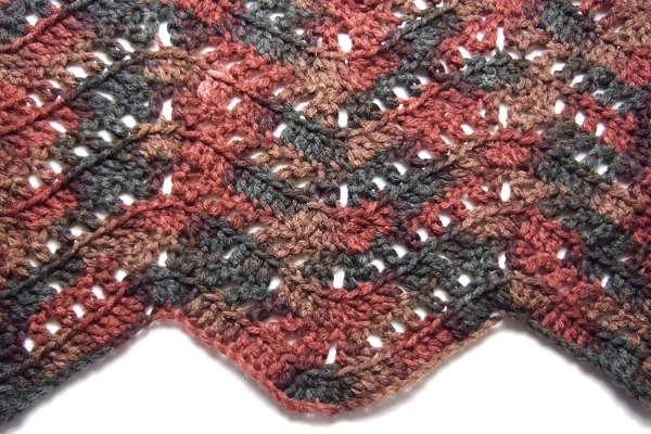 Filet Blocks Ripple Blanket - Afghans Crocheted My Patterns ...