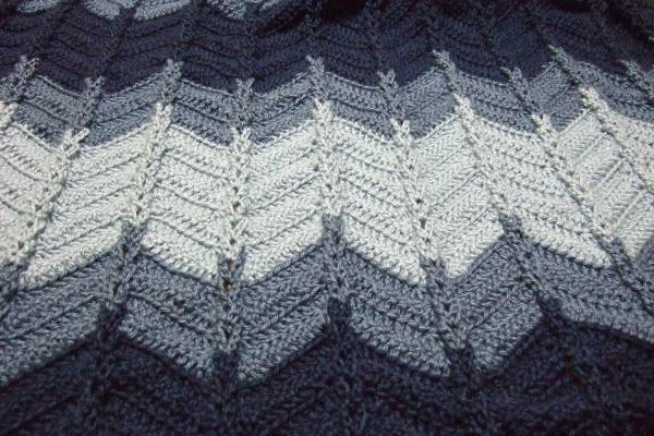 Jacobs Ladder Ripple Afghan Afghans Crocheted My Patterns