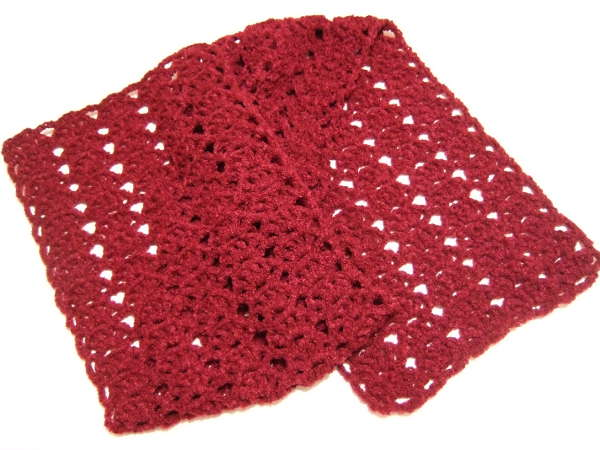 Quick Lacy Shell Scarf Clothing Crocheted My Patterns Mamas