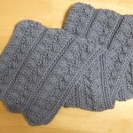 Pleated Pattern Scarf