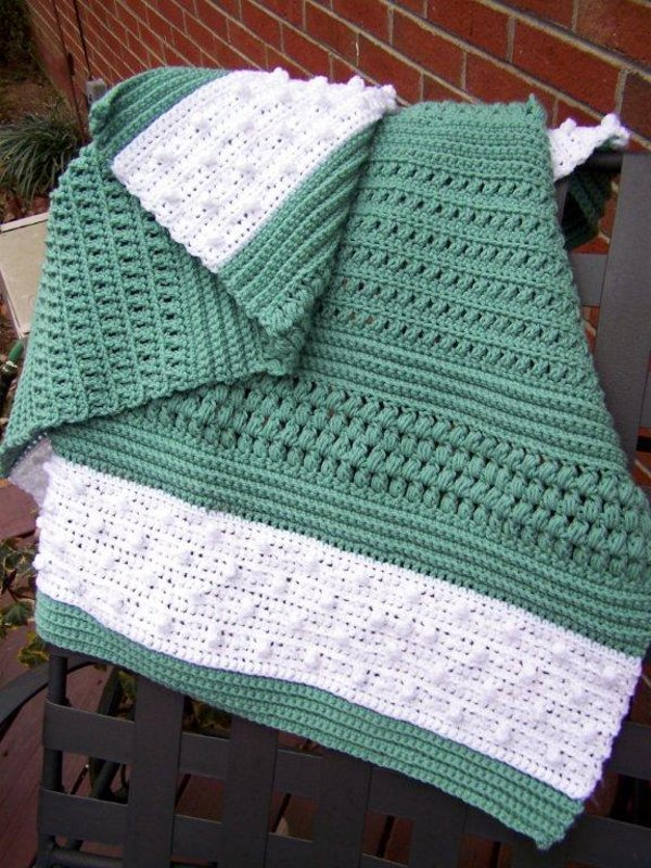 Crochet Patterns Lap Blankets : Reversible Lap Blanket - Afghans Charity Crocheted My Patterns ...