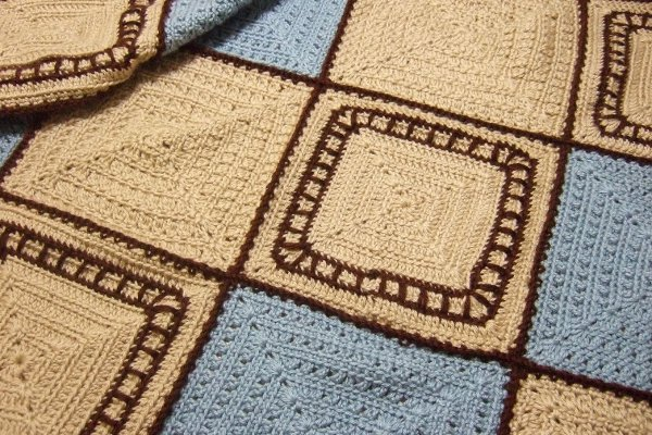 Knitting Pattern Train Blanket : Train Tracks Baby Blanket - Afghans Baby Crocheted My ...